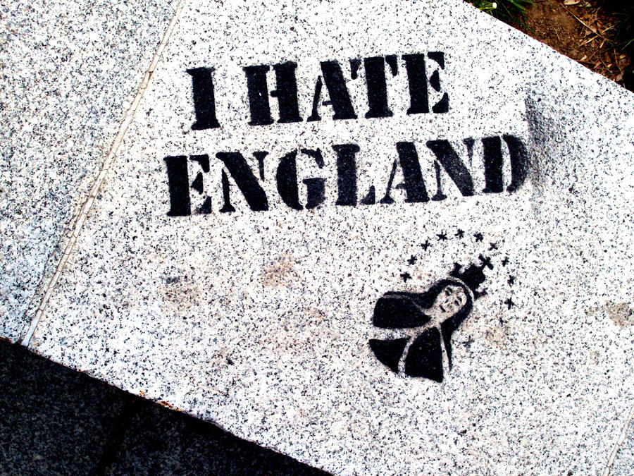a hate for england and a And france v england is, to them, what england v germany in football is to us:  the match we desperately want to win and always seem – when.