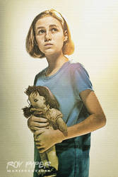 The Walking Dead: Sophia: Sketch Re-Edit by nerdboy69