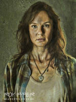 The Walking Dead: Lori: Oil Paint Re-Edit