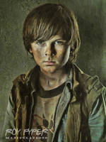 The Walking Dead: Carl: Oil Paint Re-Edit