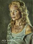 The Walking Dead: Andrea: Oil Paint Re-Edit