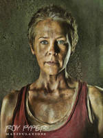 The Walking Dead: Carol: Oil Paint Re-Edit