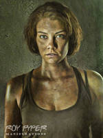 The Walking Dead: Maggie: Oil Paint Re-Edit