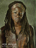 The Walking Dead: Michonne: Oil Paint Re-Edit