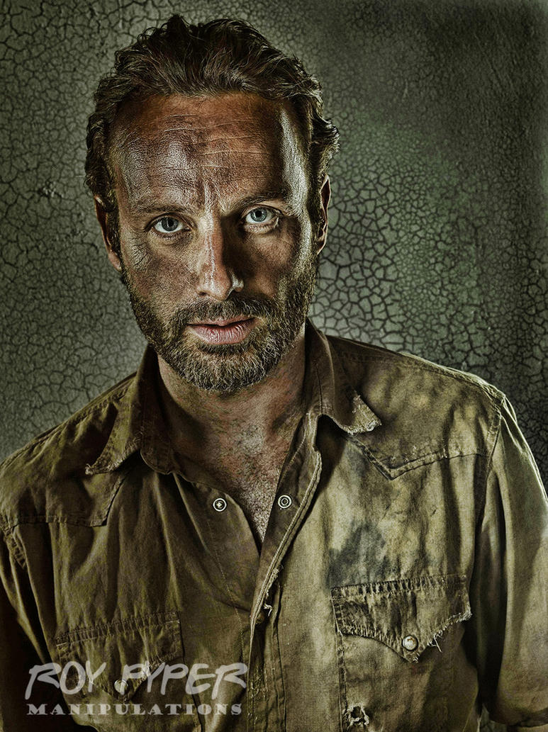 The Walking Dead: Rick: HDR Re-Edit by nerdboy69