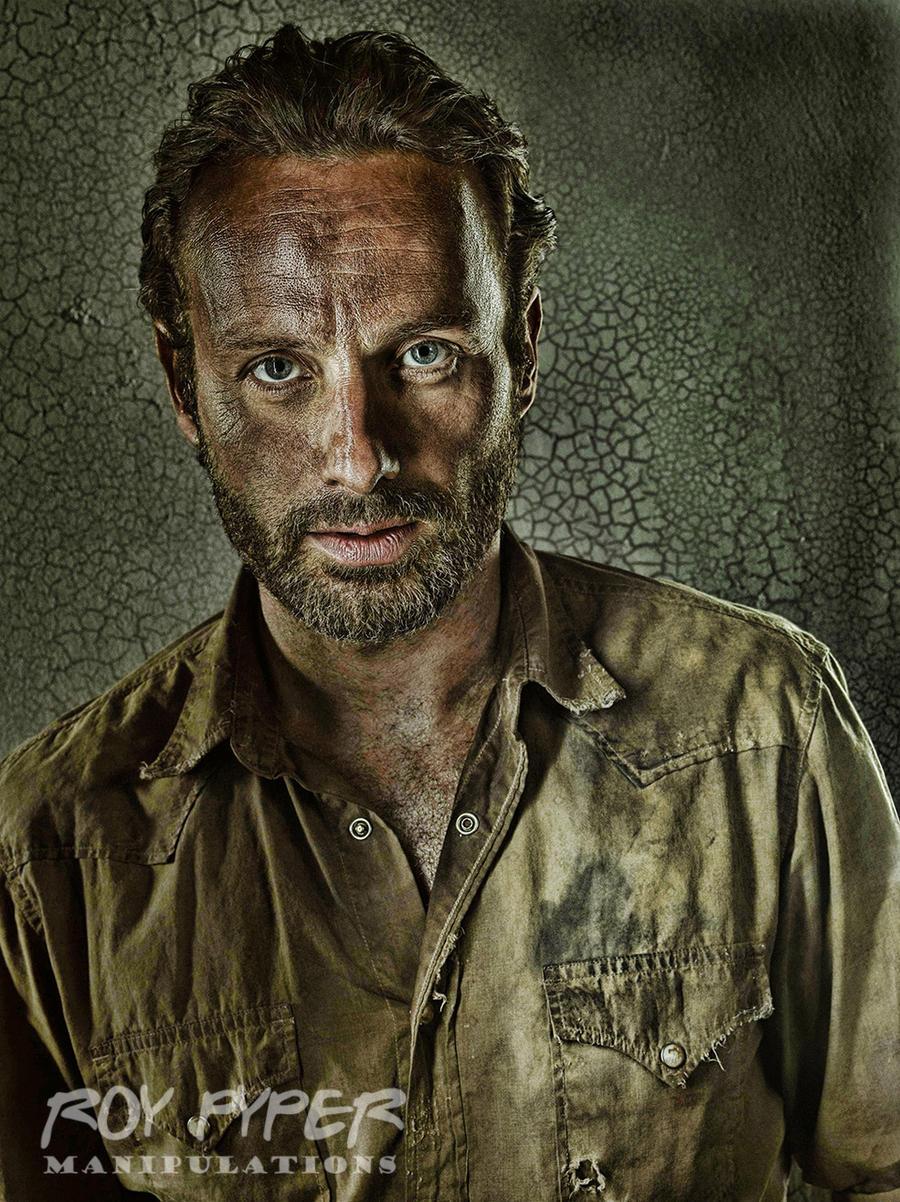 The Walking Dead: Rick: HDR Re-Edit by nerdboy69
