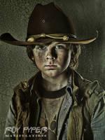 The Walking Dead: Carl: HDR Re-Edit (Ver. 2) by nerdboy69