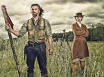 Hell on Wheels: Cullen and Lily: Oil Paint Re-Edit by nerdboy69
