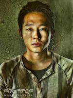The Walking Dead: Glenn: Fractalius Re-Edit by nerdboy69
