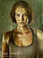 The Walking Dead: Maggie: Fractalius Re-Edit by nerdboy69