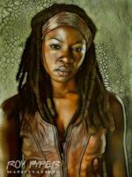 The Walking Dead: Michonne: Fractalius Re-Edit by nerdboy69