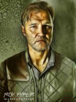 The Walking Dead: Governor: Fractalius Re-Edit by nerdboy69