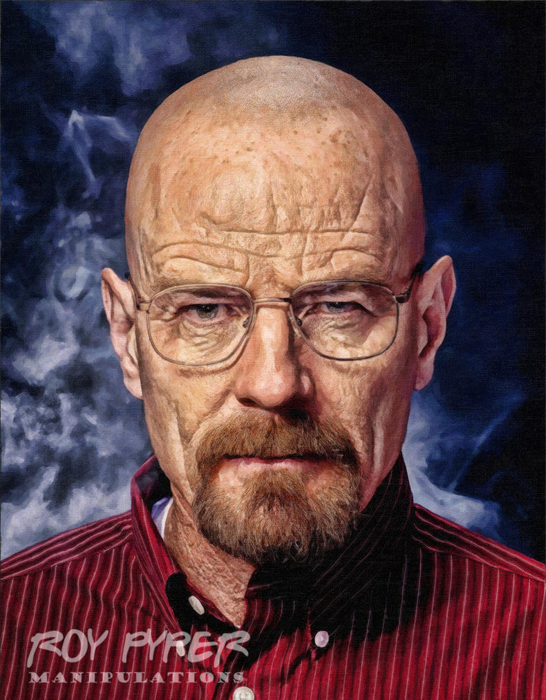 Breaking Bad: Walter: Oil Paint Re-Edit by nerdboy69