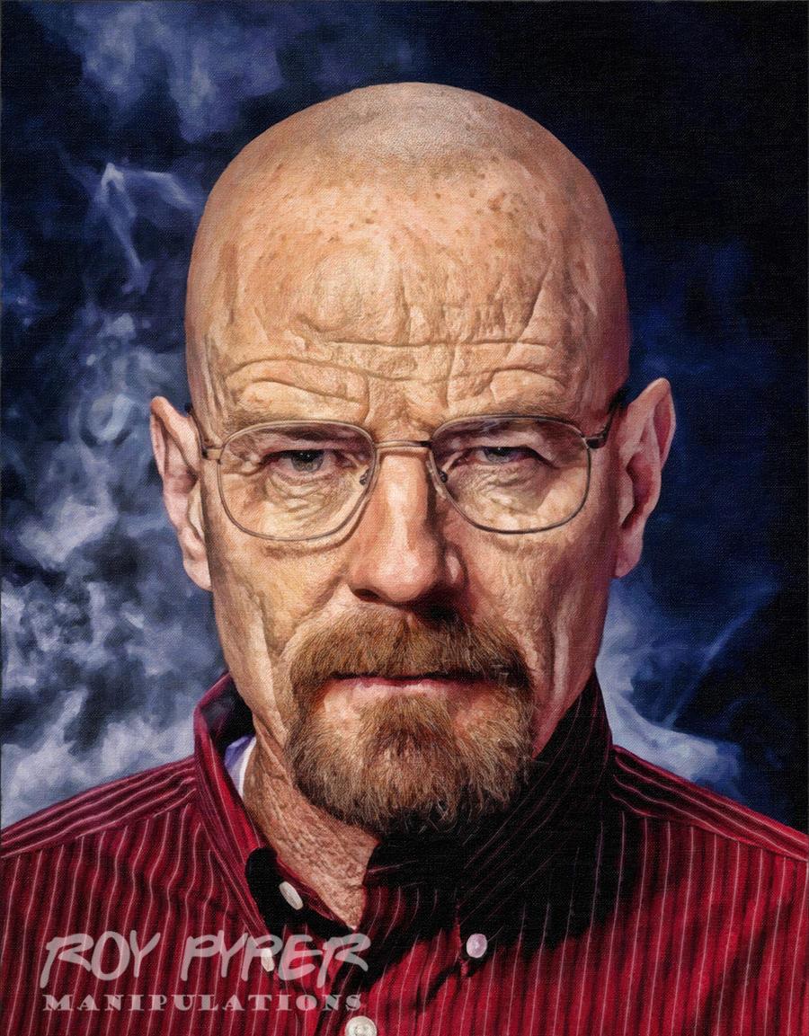 Breaking Bad: Walter: Oil Paint Re-Edit by nerdboy69