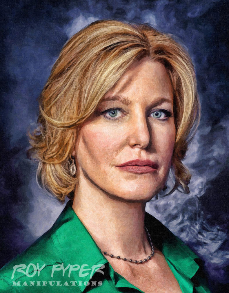 Breaking Bad: Skyler: Oil Paint Re-Edit by nerdboy69