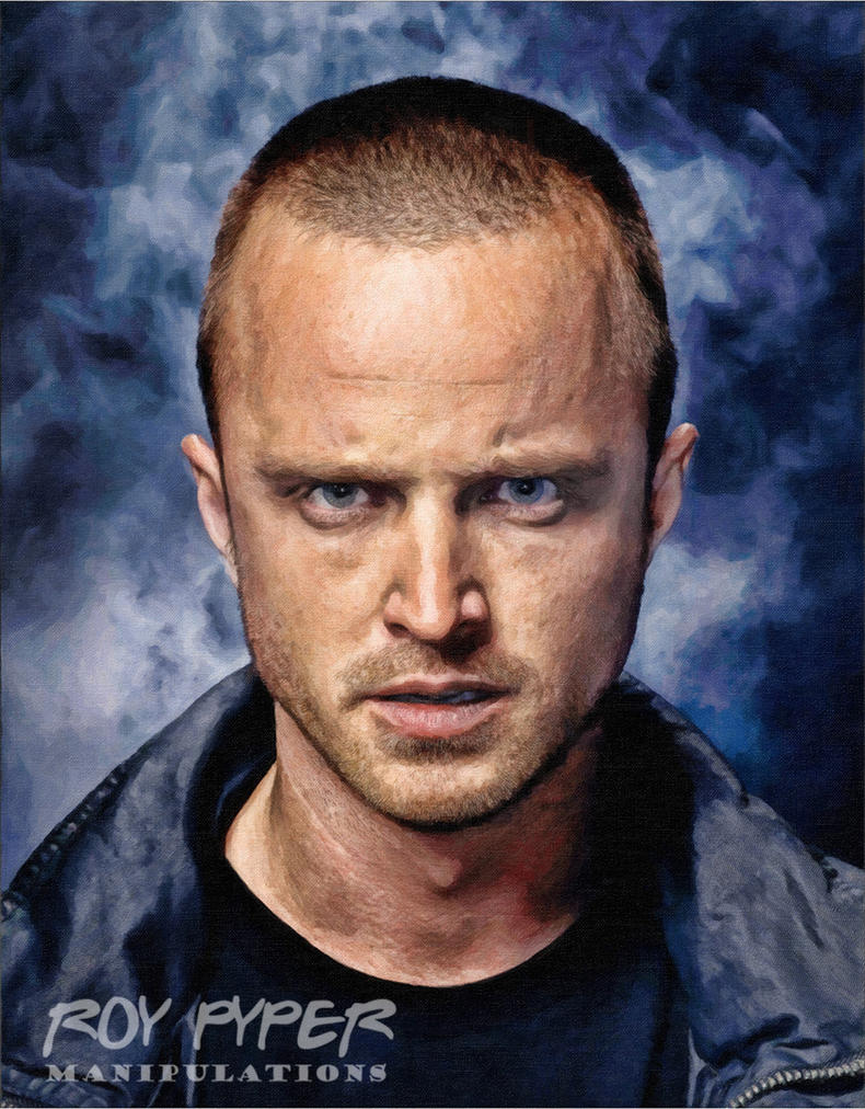 Breaking Bad: Jesse: Oil Paint Re-Edit by nerdboy69