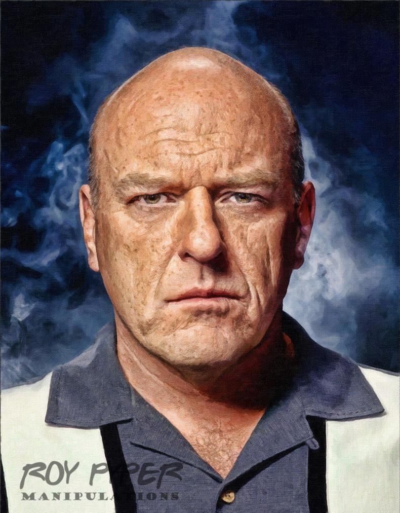 Breaking Bad: Hank: Oil Paint Re-Edit by nerdboy69
