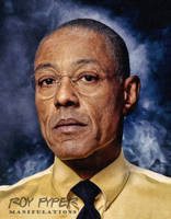Breaking Bad: Gus: Oil Paint Re-Edit by nerdboy69