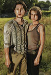 The Walking Dead: Glenn and Maggie: Crayon Re-Edit