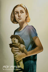 The Walking Dead: Sophia: Crayon Re-Edit by nerdboy69