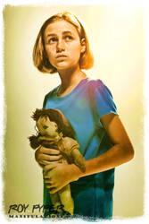 The Walking Dead: Sophia: BuzSim Paint Re-Edit by nerdboy69