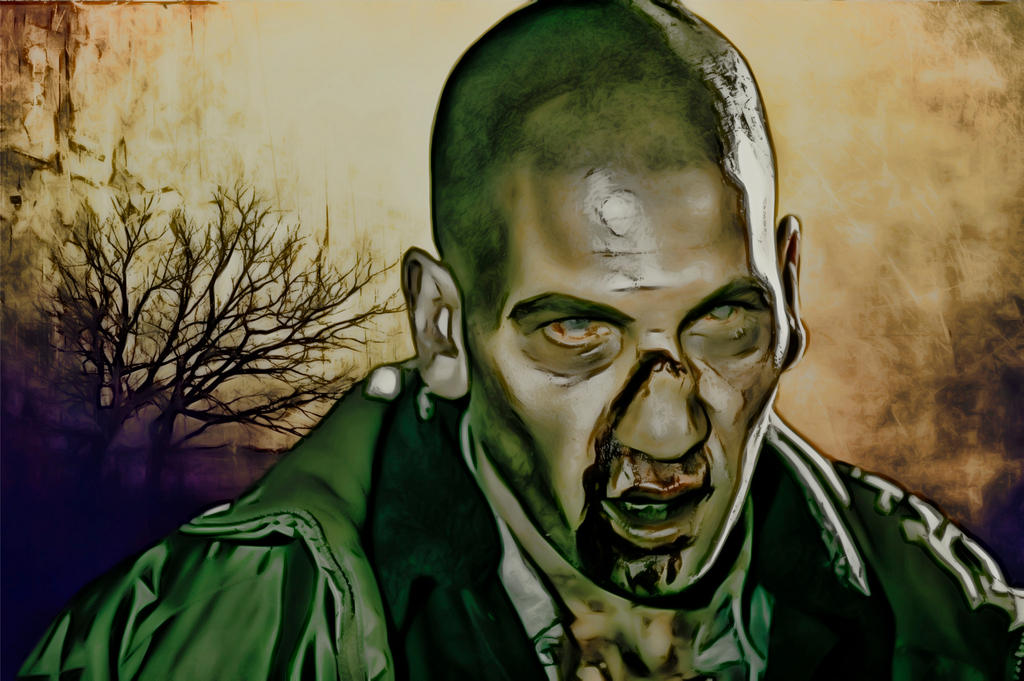 The Walking Dead: Zombie Shane: Crayon Re-Edit by ...