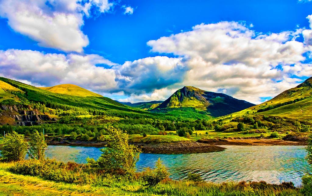 Green Scotland: BuzSim Paint Re-Edit by nerdboy69