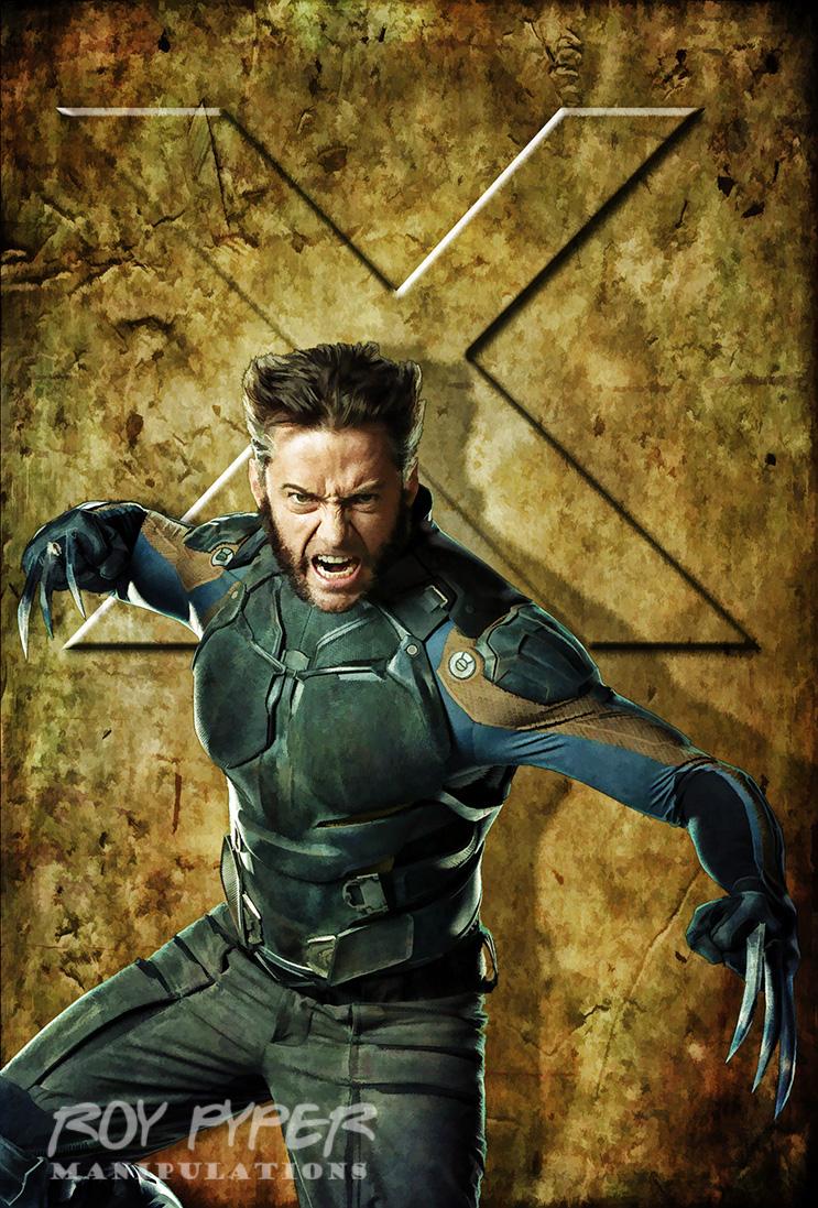 X-Men Days of Future Past: Wolverine: BuzSim Edit by nerdboy69