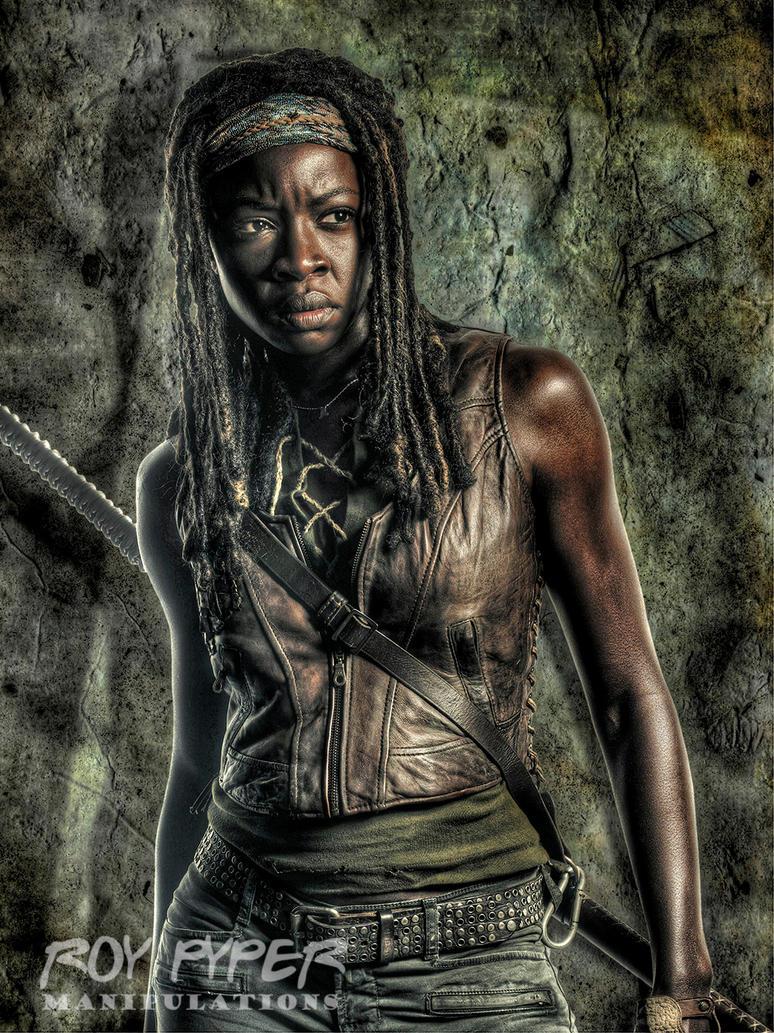TWD: Michonne: HDR Edit by nerdboy69