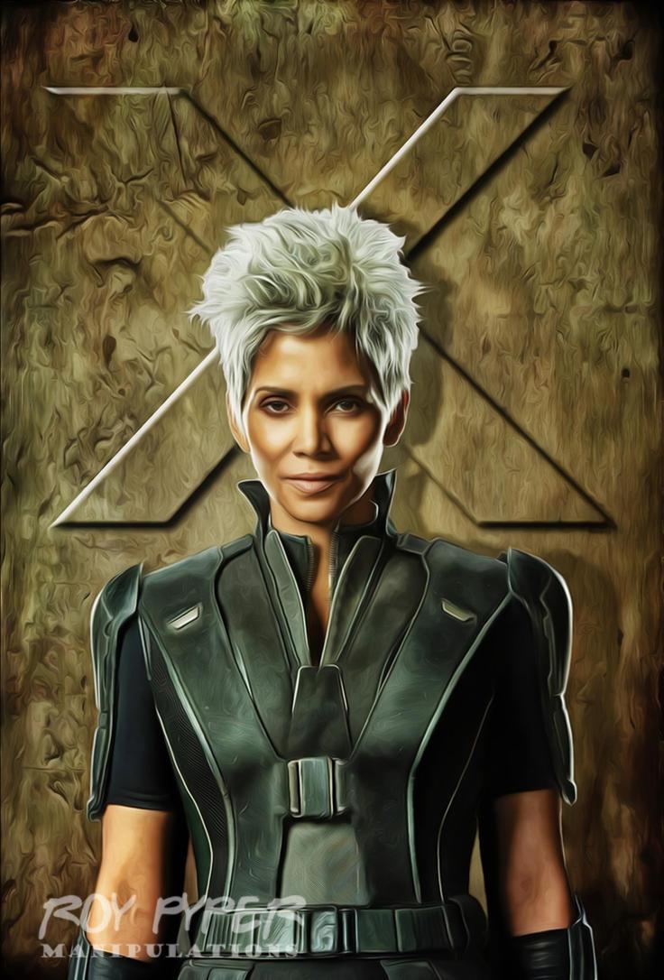 X-Men: Storm: Anisotropic Paint Edit by nerdboy69