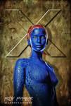 X-Men: Mystique: Anisotropic Paint Edit by nerdboy69