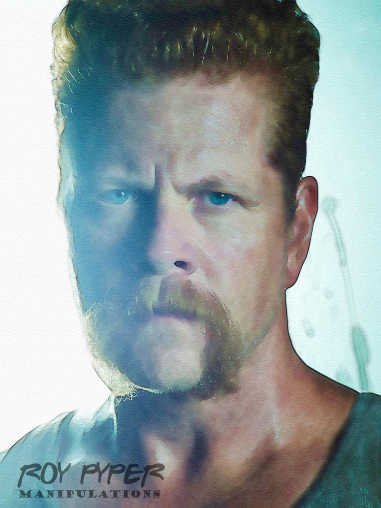 TWD: Sgt. Abraham Ford: Watercolour Edit by nerdboy69
