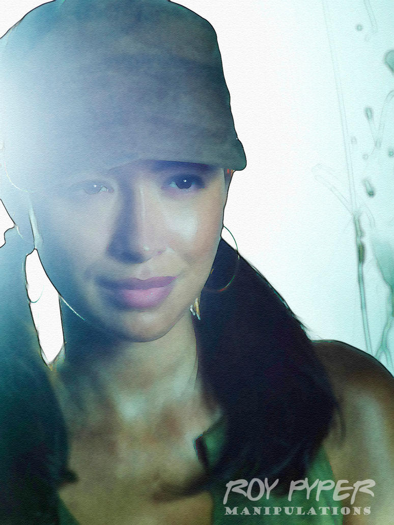 TWD: Rosita Espinosa: Watercolour Edit by nerdboy69