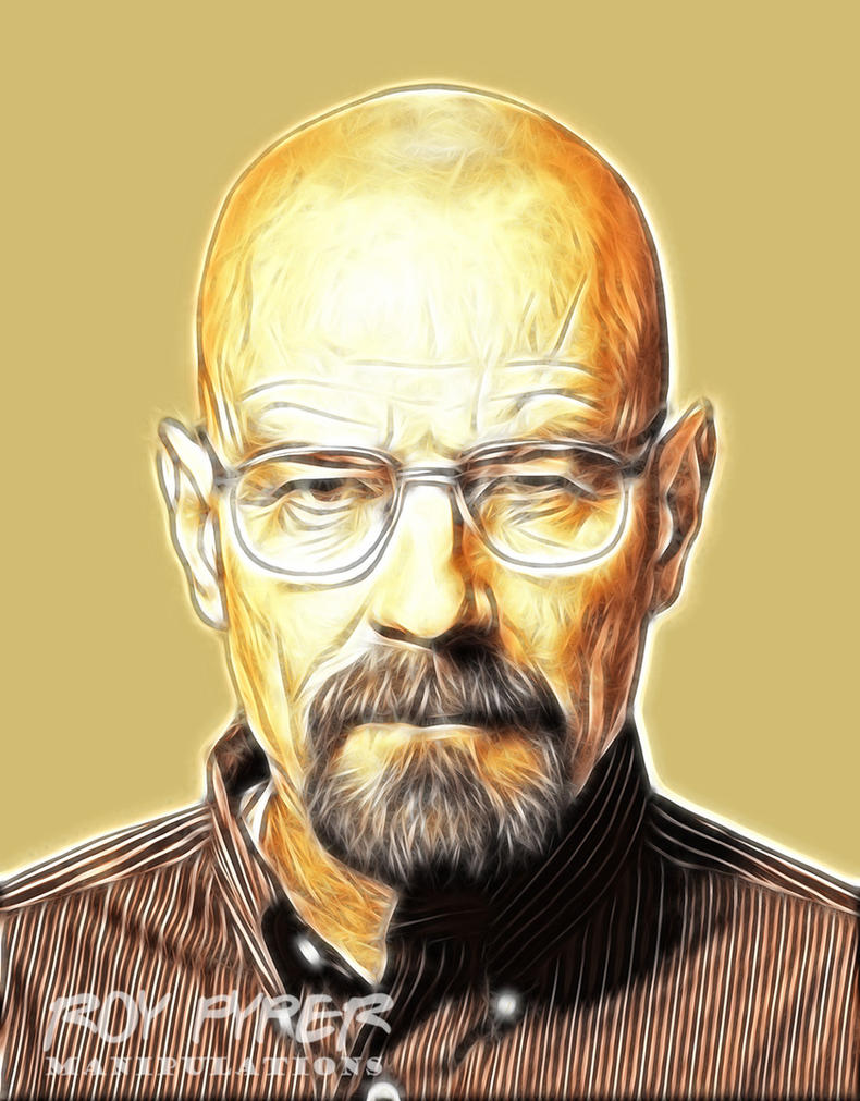 Breaking Bad: Walter White: Fractalius Edit by nerdboy69