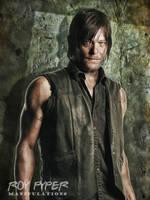 TWD: Daryl Dixon: Oil Paint Edit by nerdboy69