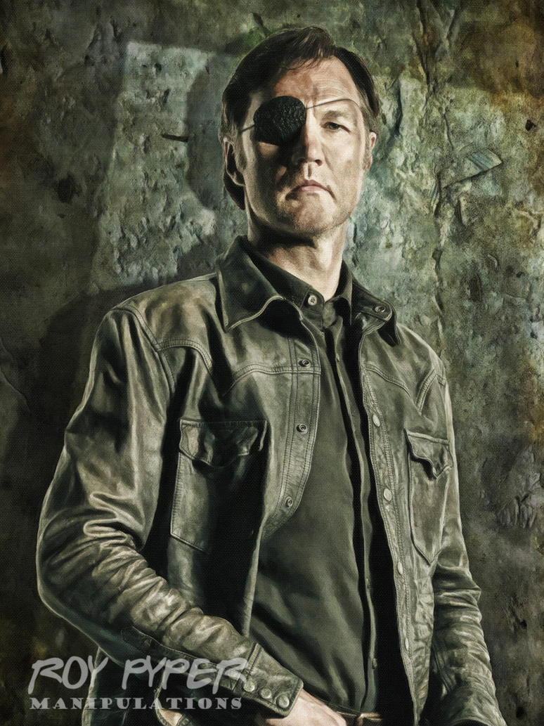 TWD: The Governor: Oil Paint Edit by nerdboy69