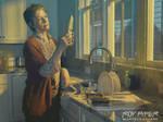 TWD: Carol Peletier: Oil Paint Edit