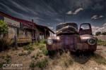 Abandoned Restaurant: HDR Edit by nerdboy69