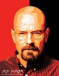 Breaking Bad: Walter White: Vectorize Edit by nerdboy69