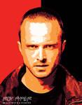 Breaking Bad: Jesse Pinkman: Vectorize Edit by nerdboy69