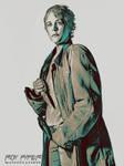 TWD: Carol Peletier: Crayon Sketch Edit