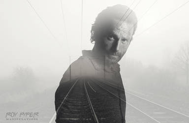 TWD: Rick Grimes: Foggy Tracks: Double Exposure