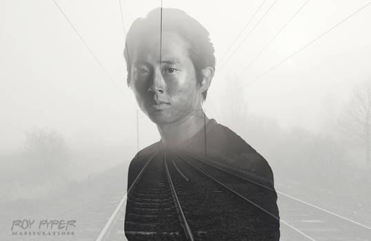 TWD: Glenn Rhee: Foggy Tracks: Double Exposure