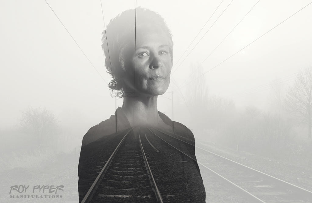 TWD: Carol Peletier: Foggy Tracks: Double Exposure