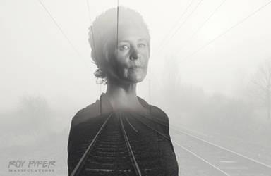 TWD: Carol Peletier: Foggy Tracks: Double Exposure