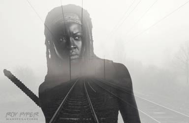 TWD: Michonne: Foggy Tracks: Double Exposure