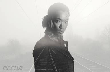 TWD: Sasha Williams: Foggy Tracks: Double Exposure