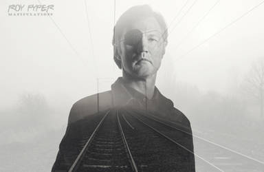 TWD: Governor: Foggy Tracks: Double Exposure by nerdboy69