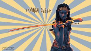 TWD: Michonne: Samurai Queen: Vectorize Desktop