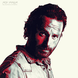 TWD: Rick Grimes: Graphic Novel Edit by nerdboy69
